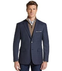 Jos Bank Traveler Collection Tailored Fit Check Sp