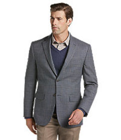Jos Bank Traveler Collection Tailored Fit Windowpa