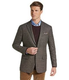 Jos Bank 1905 Collection Tailored Fit Multi-Plaid