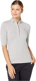 Lacoste 1/2 Sleeve Slim Fit Stretch Pique Polo