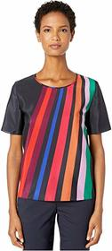 Paul Smith Multicolor Long Lines Blouse