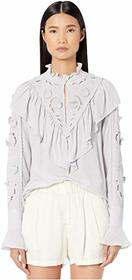 See by Chloe Applique Detail Blouse