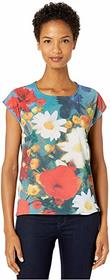 Paul Smith Mixed Media Flower T-Shirt