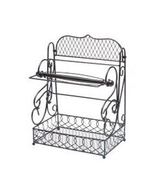 Mikasa Wire Scroll Basket with Removable Paper Tow