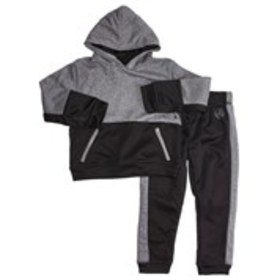 Toddler Boys Colorblock Hoodie and Joggers Set (2T