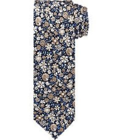 Jos Bank 1905 Collection Floral Print Tie CLEARANC