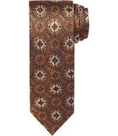 Jos Bank Reserve Collection Floral Medallions Tie