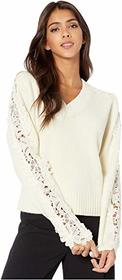 See by Chloe Lace insert Sweater
