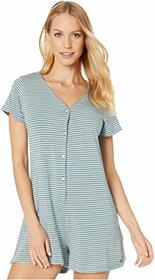 Roxy Other Things Short Sleeve Romper