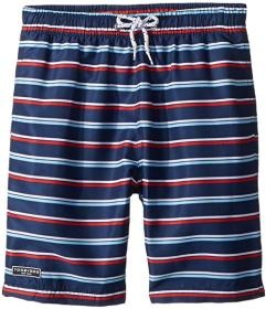 Toobydoo The Classic - Navy Stripe Swim Shorts (To