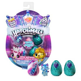 Hatchimals CollEGGtibles Royal Multipack with 4 Ha