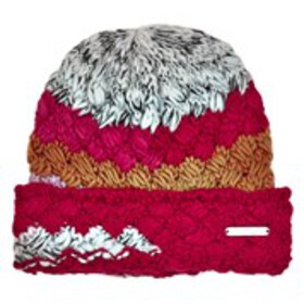 BEBE Womens Multi-Color Chunky Knit Beanie Hat