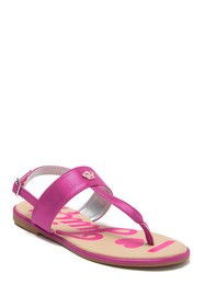 Juicy Couture Strap Sandal (Toddler