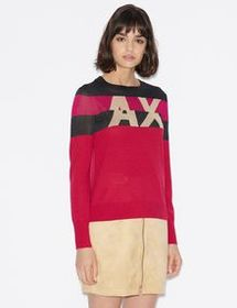 Armani LIGHT CREW-NECK PULLOVER