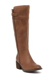 Born Fannar Wide Calf Leather Knee High Boot