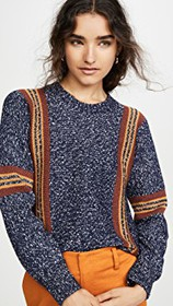 See by Chloe Striped Pullover
