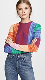 alice + olivia Connie Cropped Sweater