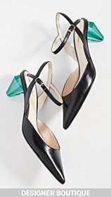 Marc Jacobs The Diamond Heel Slingback