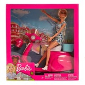 BARBIE Barbie Doll Scooter Set