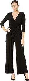 Adrianna Papell Jersey Long Sleeve Jumpsuit
