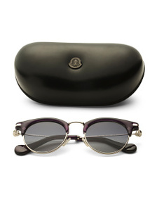 MONCLER Made In Italy 47mm Clubmaster Sunglasses