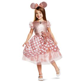 Disney Minnie Mouse Costume for Kids – Rose Gold