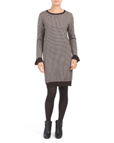 BENEDETTA B. Made In Italy Wool Blend Houndstooth