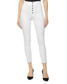 J Brand - Lille High Rise Cropped Skinny Jeans in