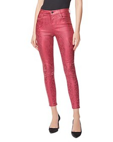 J Brand - Alana Skinny Ankle Jeans in Opium Jagged