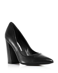 Charles David - Women's Medal Pointed Toe Pumps