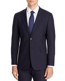 Theory - Chambers Small Check Slim Fit Suit Jacket