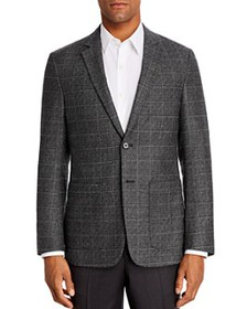 Theory - Gansevoort Windowpane Plaid Regular Fit S