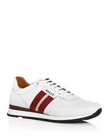 Bally - Men's Aston Leather Low-Top Sneakers
