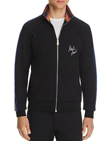 Paul Smith - Logo-Embroidered Striped Track Jacket