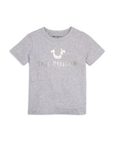 True Religion - Boys' Metallic Logo Tee - Little K