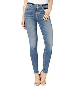 7 For All Mankind High-Waist Ankle Skinny in Class