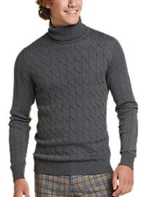 Paisley & Gray Slim Fit Turtleneck Sweater, Charco