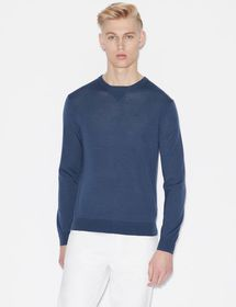 Armani PULLOVER IN PURE VIRGIN WOOL