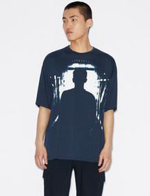 Armani LOOSE-FIT GRAPHIC TEE