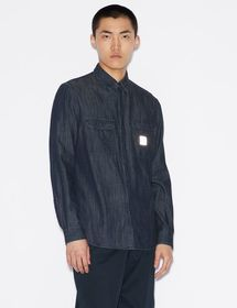 Armani REGULAR-FIT DENIM SHIRT