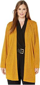 MICHAEL Michael Kors Plus Size Open Cardigan