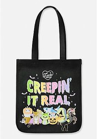 Justice Creepin' It Real Halloween Tote