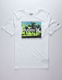 HURLEY Open Mind II White Boys T-Shirt_