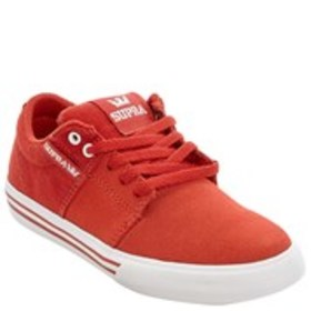 SUPRA Supra Stacks Vulc II Boys Suede & Canvas Sne