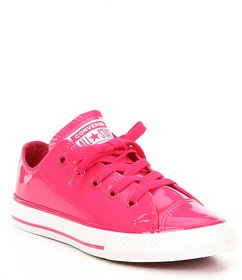 Converse Girls' Chuck Taylor All Star Leather Slip