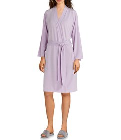 N by Natori Nvious Baby French Terry Short Wrap Ro