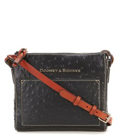 Dooney & Bourke Ostrich Collection Marlee Cross-Bo