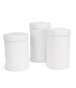 Southern Living Stoneware White Canister