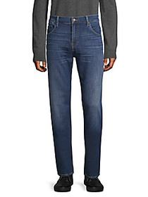 7 For All Mankind Straight-Fit Jeans BLUE