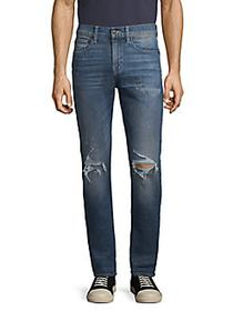 7 For All Mankind Paxtyn Skinny Distressed Jeans T